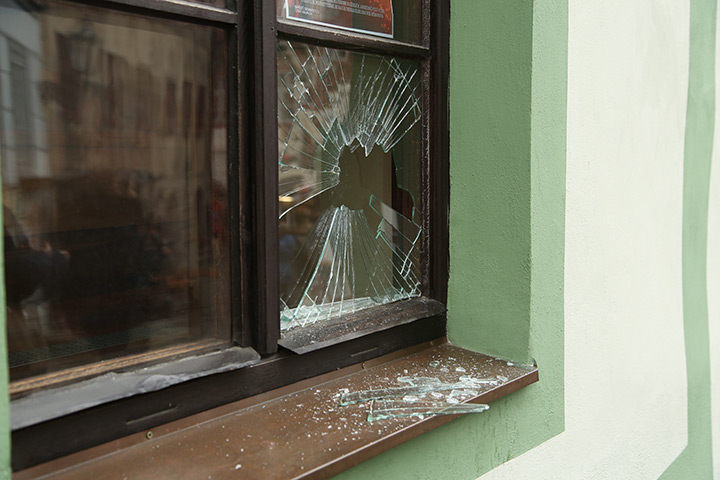 A2B Glass are able to board up broken windows while they are being repaired in North Wembley.